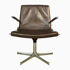 Leather Armchair by Preben Fabricius for Walter Knoll / Wilhelm Knoll, 1960s