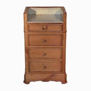 Antique Birch Chest of Drawers, 1900s