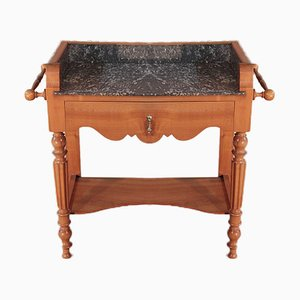 Antique Cherry Bathroom Table
