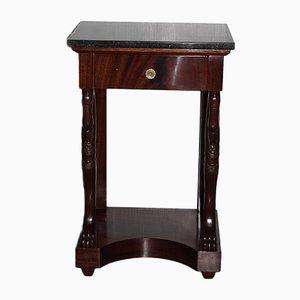 Empire Nachttisch aus Mahagoni