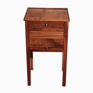 Antique Walnut Nightstand