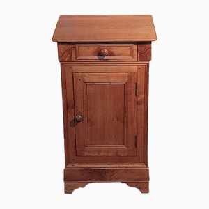 Antique Birch Nightstand, 1900s