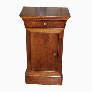Antiker Nachttisch aus Kirschholz