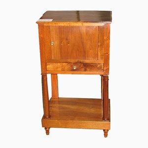 Antiker Empire Nachttisch aus Nussholz