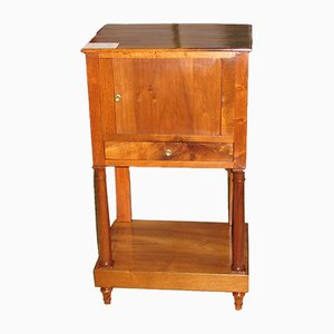Antique Empire Walnut Nightstand