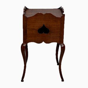 Antiker Louis XV Nachttisch aus Kirschholz