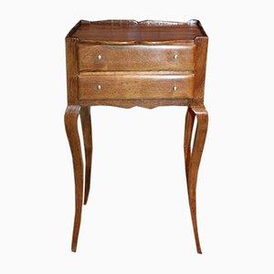Antique Oak Nightstand