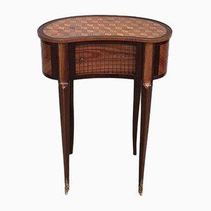 Nierenförmiger Vintage Nachttisch aus Palisander