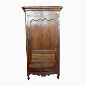 Antique Louis XV Cherry Wardrobe