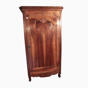 Antique Louis XV Walnut Wardrobe