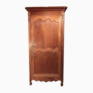 Antique Louis XV Style Cherrywood Wardrobe