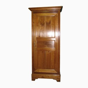 19th Century Louis Philippe Cherry Wood Wardrobe