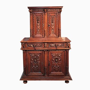Antique Renaissance Walnut Buffet
