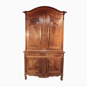 Antiker Louis XV Kleiderschrank aus Nussholz