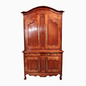 19th Century Louis XV Style Cherrywood Wardrobe