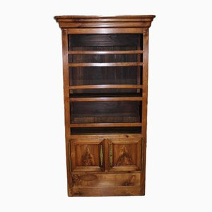 Antique Cherry and Oak Cabinet