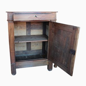 Antique Directoire Walnut Buffet