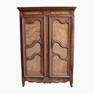 Antique Louis XV Style Oak Wardrobe