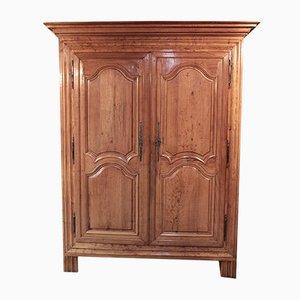 Antike Kleiderschrank aus Birnenholz
