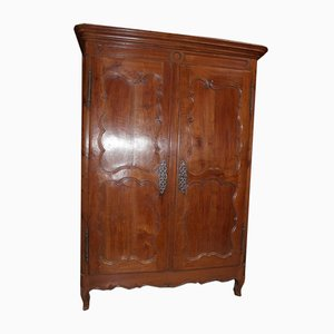 Antique Regency Style Cherry Wardrobe