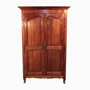 Antique Birch and Cherry Wardrobe
