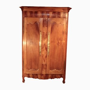 Antique Louis XV Style Cherry Armoire