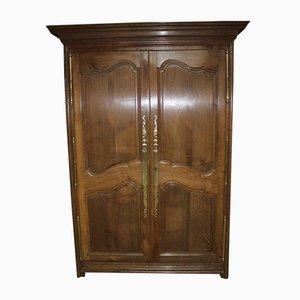 Antique Louis XIX Oak Armoire