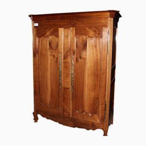 Antique Louis XV Style Cherry Wardrobe