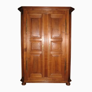Antique Louis XIV Walnut Wardrobe