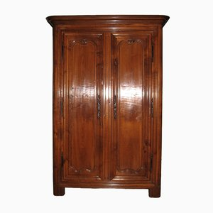 Antique Cherrywood Louis XV Wardrobe