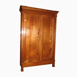 Antique Directoire Style Birch Wardrobe