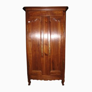 Small Antique Louis XV Cherrywood Wardrobe
