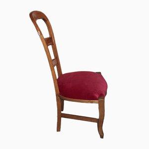 Antique Cherry Nursing Chair