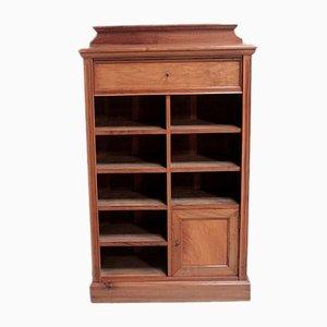Antique Walnut Cabinet, 1900s