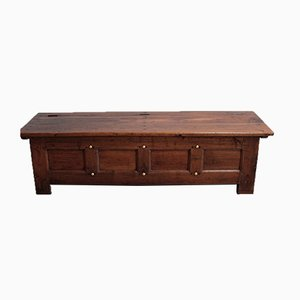 Antique Chestnut Linen Chest