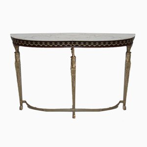 Vintage Bronze Decor Console Table