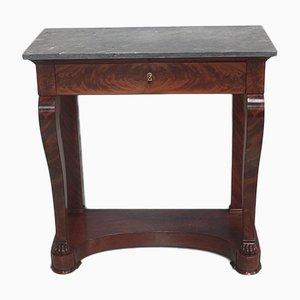 Antique 19th-Century Mahogany Console Table