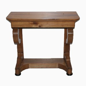 Antique 19th-Century Birch Console Table