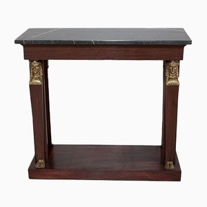 Antique 19th-Century Mahogany Console Table
