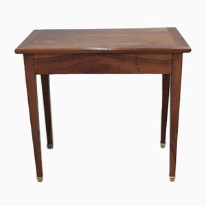 Antique 19th-Century Walnut Console Table
