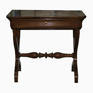 Antique Louis Philippe Style Walnut Console Table