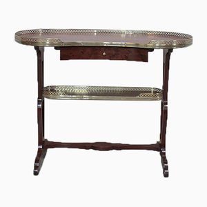 Antique Mahogany Kidney Table