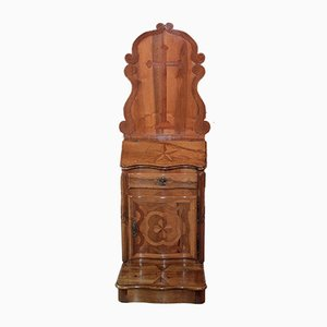 18th Century Louis XIV Style Walnut Prayer Cabinet
