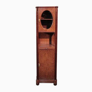 Vintage Art Deco Mahogany and Thuya Burr Cabinet