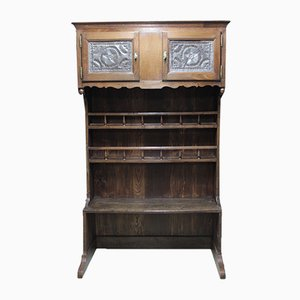 19th Century Norman Oak Cupboard