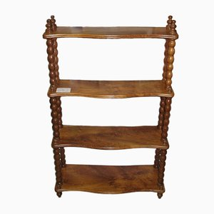 Antique Louis Philippe Walnut Shelf, 1850s