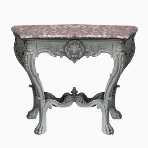 Antique Louis XV Style Console Table
