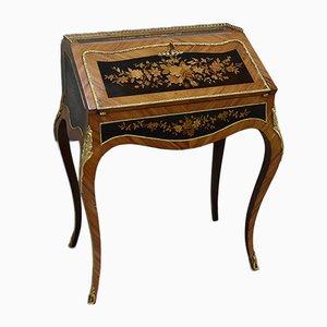 Louis XV Schreibtisch aus Palisander, 19. Jh.