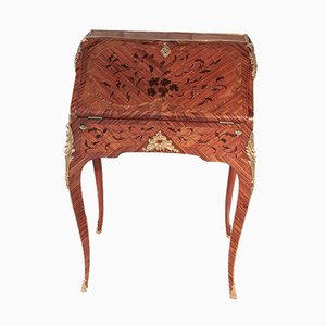 Antique Rosewood Marquetry Desk
