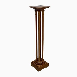 Vintage Louis XVI style Walnut Column, 1920s